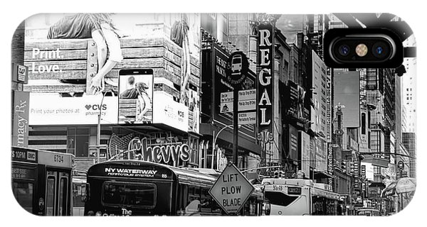 42nd Street Nyc IPhone Case