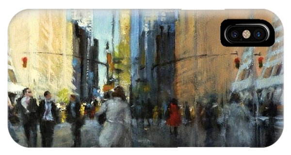 42nd Street Reflections IPhone Case