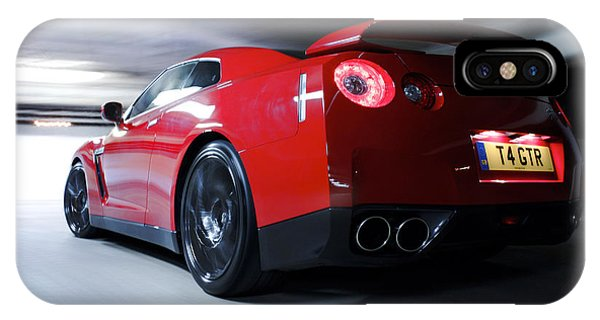 Nissan iPhone Case - 45647 Nissan Nissan Gt R by Mery Moon