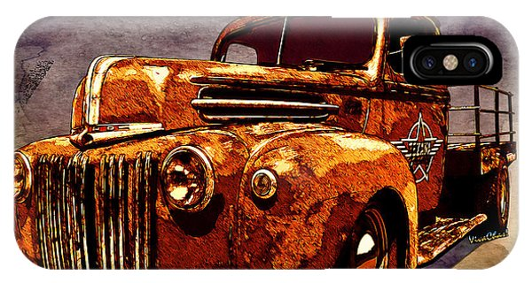 46 Ford Flatbed Redux From The Laboratories At Vivachas IPhone Case