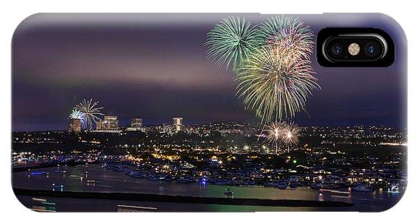 4th Of July Fireworks Phone Case by Eddie Yerkish