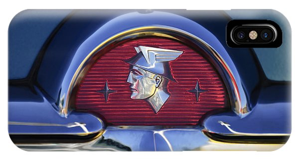 Monterey iPhone Case - 1953 Mercury Monterey Emblem by Jill Reger