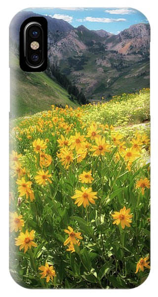 Albion Basin Wildflowers IPhone Case