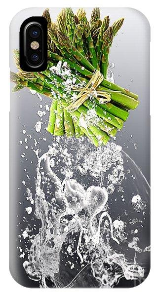 Asparagus Splash IPhone Case