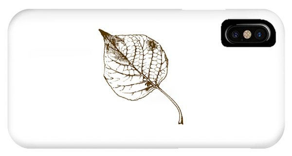 Autumn iPhone X Case - Autumn Day by Chastity Hoff