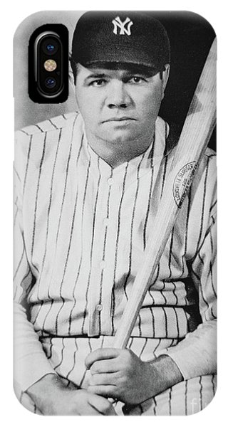 Bomber iPhone Case - Babe Ruth by American School