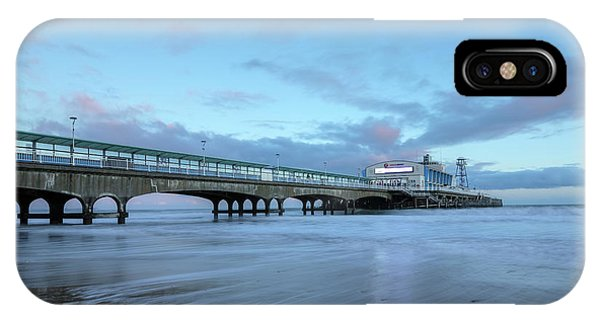 Bournemouth iPhone Case - Bournemouth Pier - England by Joana Kruse