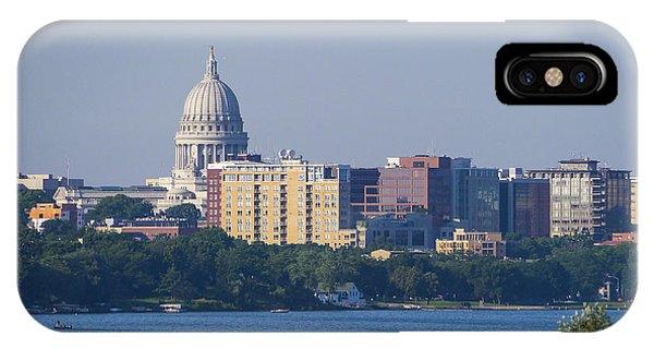 Capitol - Madison - Wisconsin IPhone Case