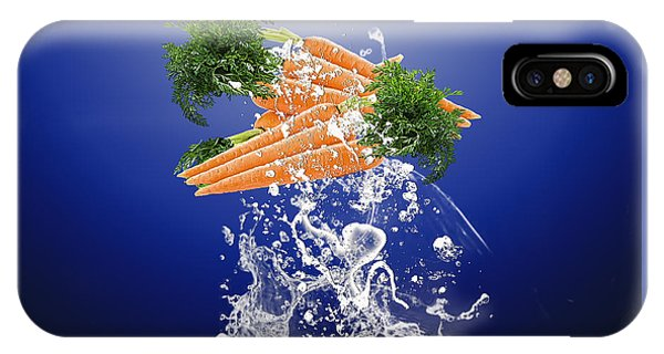 Carrot Splash IPhone Case