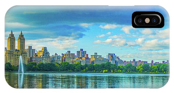 IPhone Case featuring the photograph Central Park by Theodore Jones