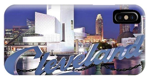 Cleveland Ohio IPhone Case