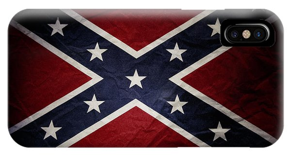 Confederate Flag 8 IPhone Case