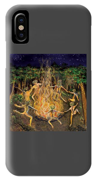 Dancing Naked In The Forest Cd Cover IPhone Case