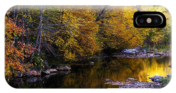 Fall Color Gauley River Headwaters IPhone Case