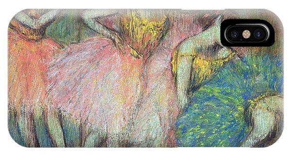 Dance iPhone Case - Four Dancers by Edgar Degas