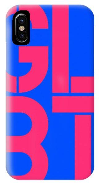 Lgbt iPhone Case - Glbt by Three Dots