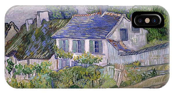 French Artist iPhone Case - Houses At Auvers by Vincent van Gogh