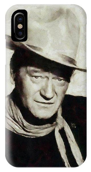 John Wayne Hollywood Actor IPhone Case