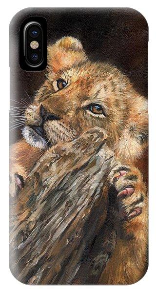 Lion Cub IPhone Case