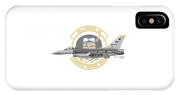 Lockheed Martin F-16c Viper IPhone Case