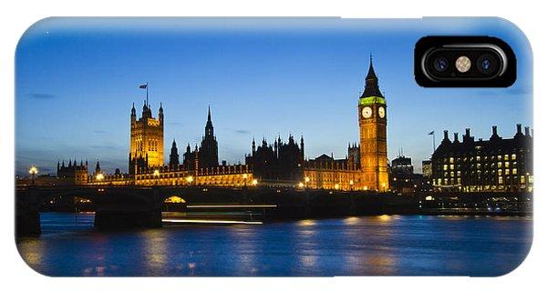 London  Skyline Big Ben IPhone Case