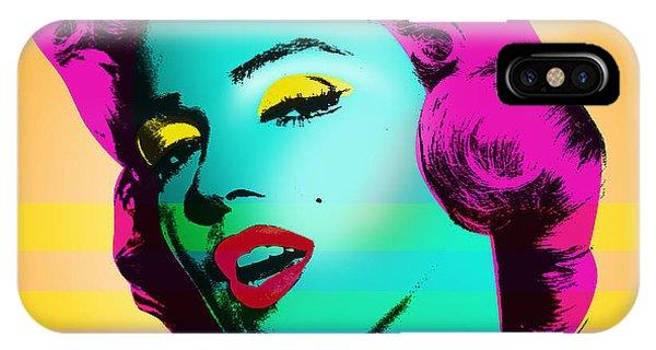 Actor iPhone Case - Marilyn Monroe by Mark Ashkenazi