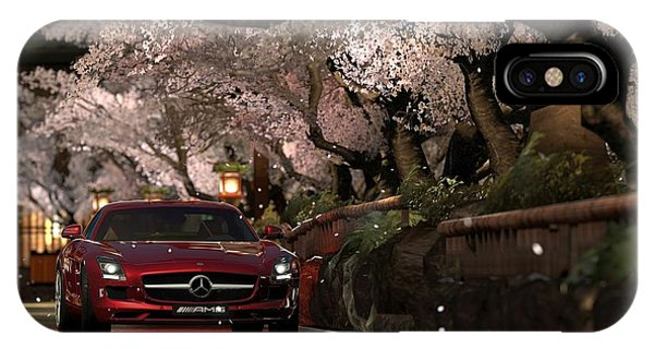 Transportation iPhone Case - Mercedes by Penelope Gow