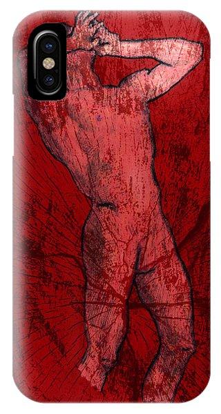 Nude Man IPhone Case
