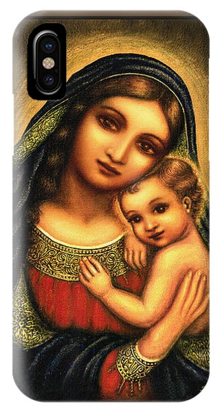 Oval Madonna IPhone Case