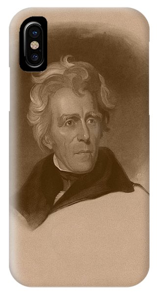 United States Presidents iPhone Case - President Andrew Jackson by War Is Hell Store