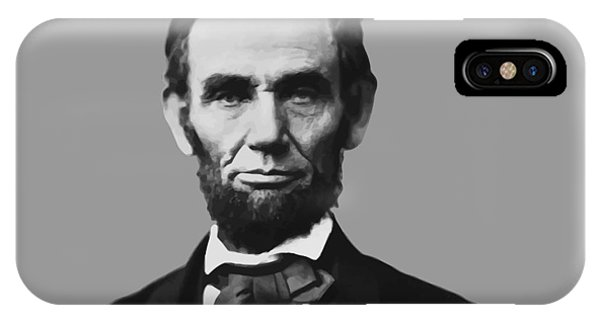 Abraham Lincoln iPhone Case - President Lincoln by War Is Hell Store