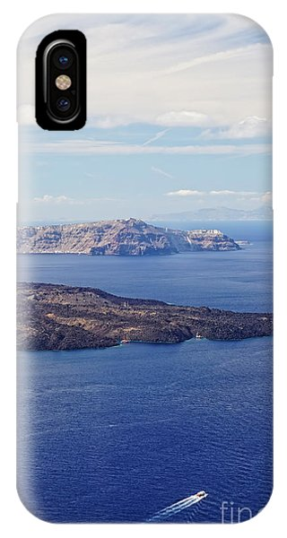 Greece iPhone Case - Santorini by HD Connelly