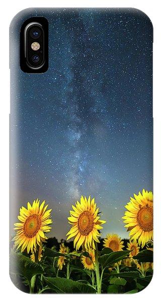 Sunflower Galaxy IIi IPhone Case