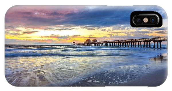 Sunset Naples Pier, Florida IPhone Case