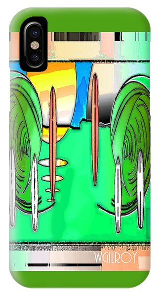 Simple iPhone Case - Surf Art by W Gilroy