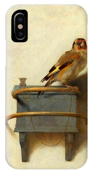 Meadowlark iPhone Case - The Goldfinch by Carel Fabritius