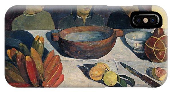 Protein iPhone Case - The Meal   by Paul Gauguin