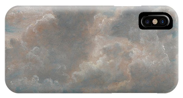 Cloud iPhone Case - Title Cloud Study by John Constable