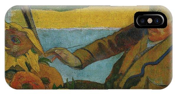 Vincent Van Gogh Painting Sunflowers  IPhone Case