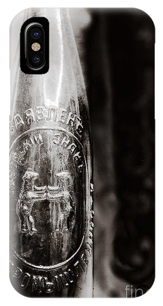 Vintage Beer Bottle #0854 IPhone Case