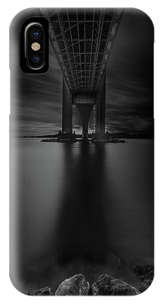 IPhone Case featuring the photograph 50 Shades Of Verrazano by Edgars Erglis