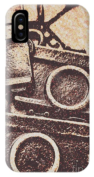 Vintage Camera iPhone Case - 50s Brownie Cameras by Jorgo Photography - Wall Art Gallery
