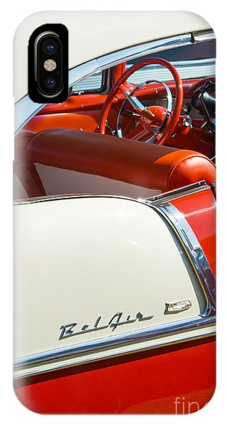 Coupe iPhone Case - 55 Chevrolet Sport Coupe by Tim Gainey