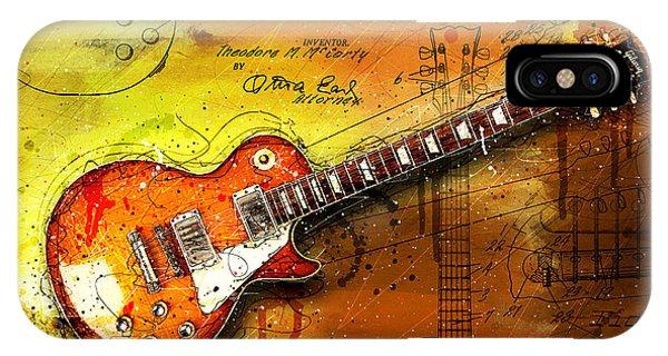 Van Halen iPhone Case - 55 Sunburst by Gary Bodnar