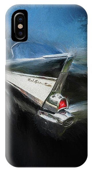 Auto Show iPhone Case - 57' Belair by Marvin Spates