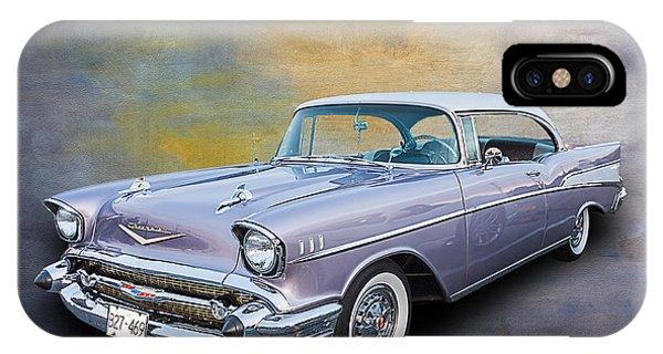 57 Chev Classic Car IPhone Case