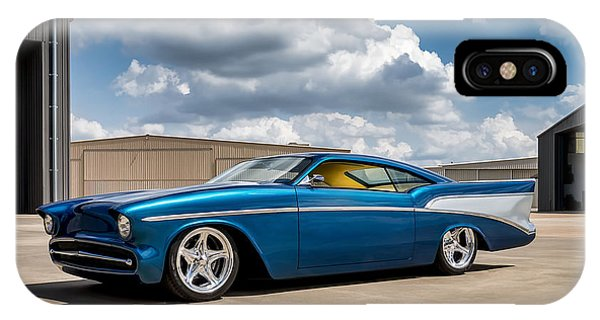 Chevrolet iPhone Case - '57 Chevy Custom by Douglas Pittman