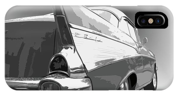 Dick Goodman iPhone Case - 57 Chevy by Dick Goodman