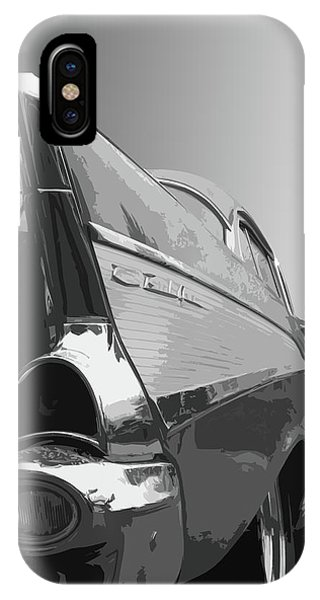 Dick Goodman iPhone Case - 57 Chevy Verticle by Dick Goodman