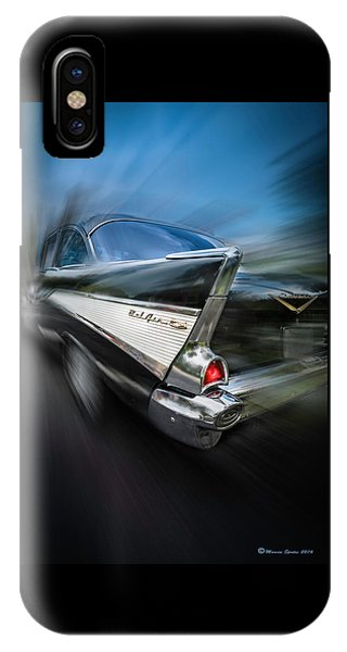 Antiquated iPhone Case - 57' Go Power by Marvin Spates